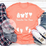 snacking for three shirt