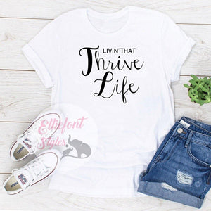 thrive life t shirts