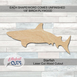 Shark Wood Cutouts