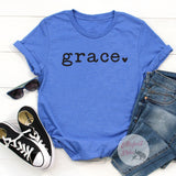 Religious Shirts Grace Shirt - Elliefont Styles