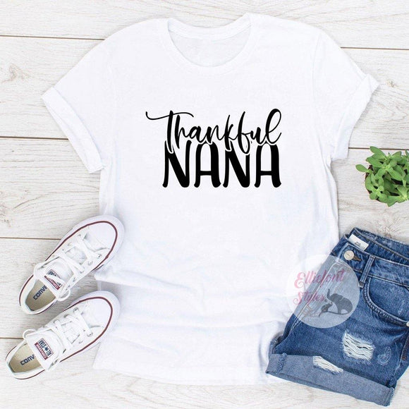 thankful nana shirt