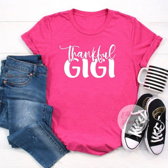 thankful gigi shirt