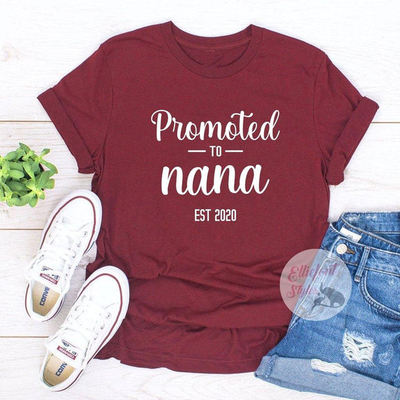 promoted to nana shirt