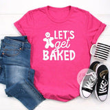holiday baking team shirt