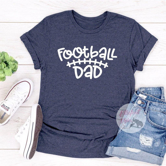 Football Dad Shirt - Elliefont Styles