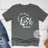 graphic fishing t shirts