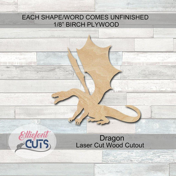 Dragon Wood Cutouts
