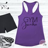 Gym Junkie Workout Tank Top