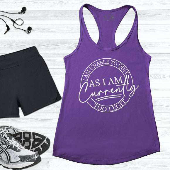 Graphic workout tanks
