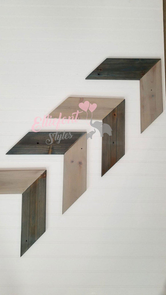 Large wooden Chevron Arrows
