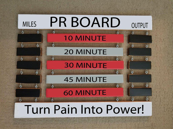 Bike Tread Combo PR Board Miles Output Display © - Elliefont Styles