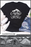 Camp Hair Don't Care Shirt - Elliefont Styles