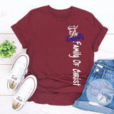 Family Of Christ Knights School Pride Spirit Shirt - Elliefont Styles