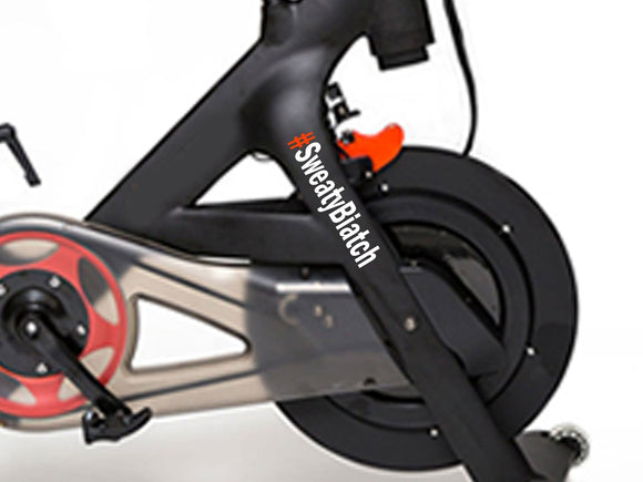Spin Bike Leader Board Name Custom Decal