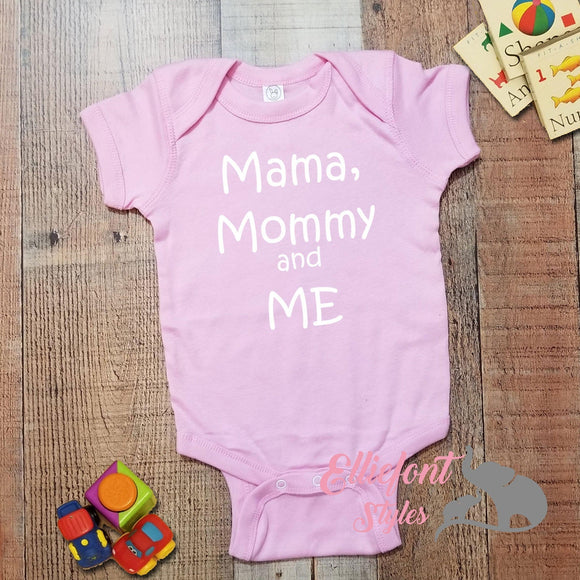 Mama Mommy And Me Infant Bodysuit
