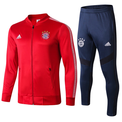Bayern Munich 19/20 jacket suit (red jacket+dark blue pants)