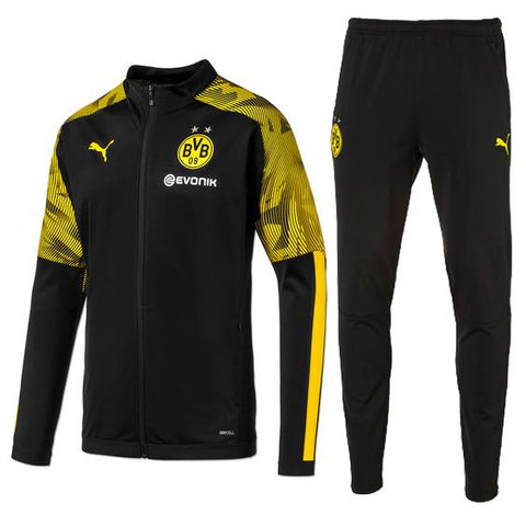 Dortmund 19/20 jacket suit (black jacket+black pants)