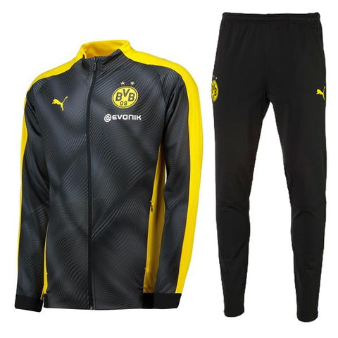 Dortmund 19/20 jacket suit (gray jacket+black pants)