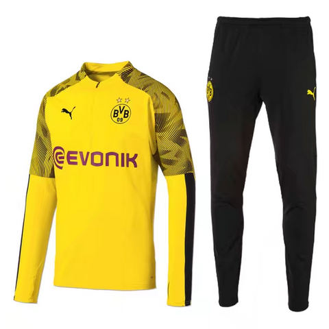 Dortmund 19/20 tracksuit (yellow jacket+black pants)