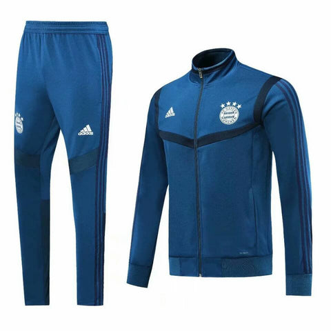 Bayern Munich 19/20 jacket suit (blue jacket+blue pants)