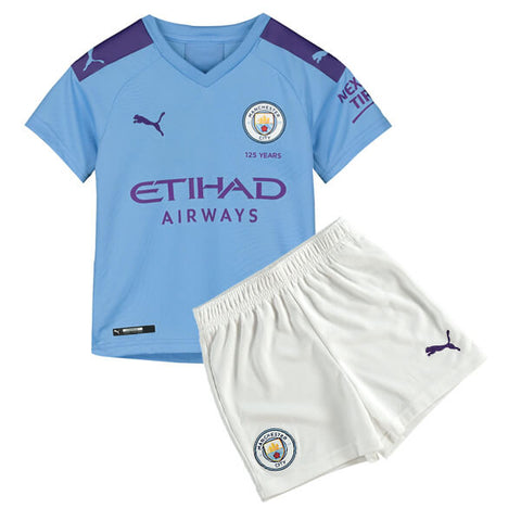 Manchester City 19/20 kids home jersey