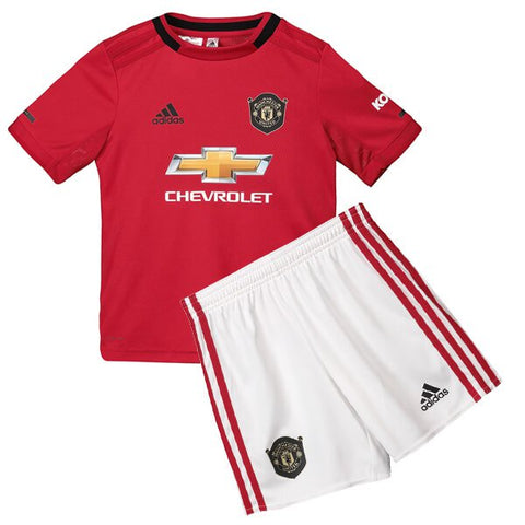 Manchester united 19/20 kids home jersey