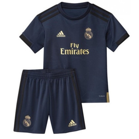 Real Madrid 19/20 kids away jersey