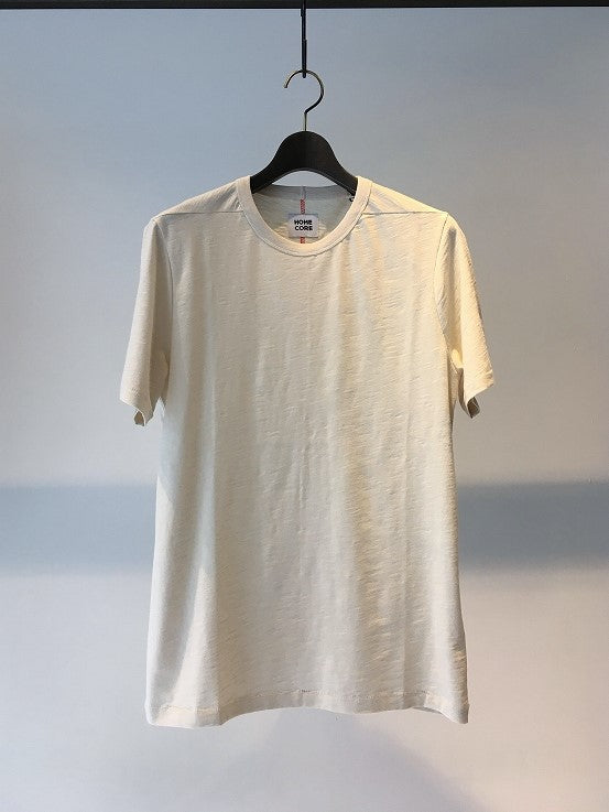 HOMECORE / RODGER BIO T-SHIRT / CREAM