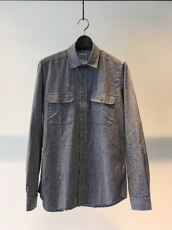 HOMECORE / MIGO BROOK SHIRT / CHAMBRAY