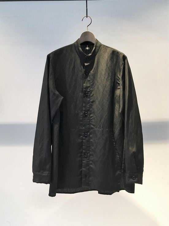 ANTONIO TUO / LINEN SHIRT / BLACK