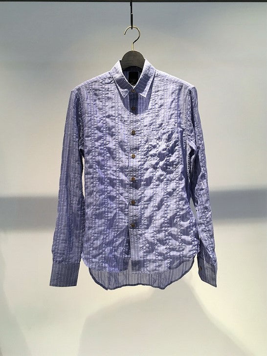 BIRO / EASY STRIPE SHIRT / LIGHT BLUE