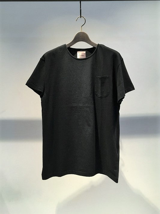 BIRO / FCLASSIC SIMPLE POCKET TEE / BLACK