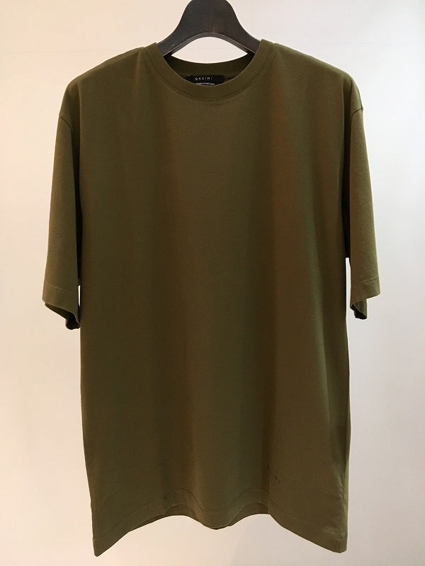 QASIMI / OVERSIZED T-SHIRT / MILITARY OLIVE