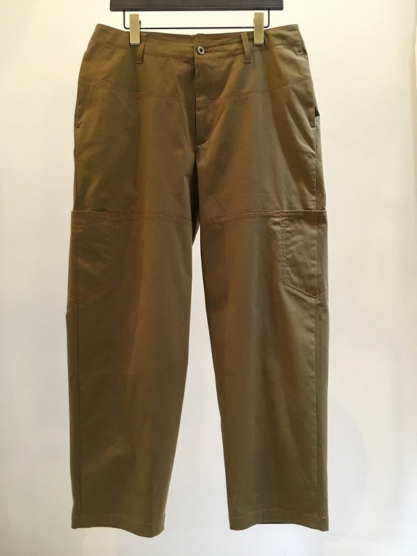 QASIMI / NEW WORKER TROUSERS / KHAKI