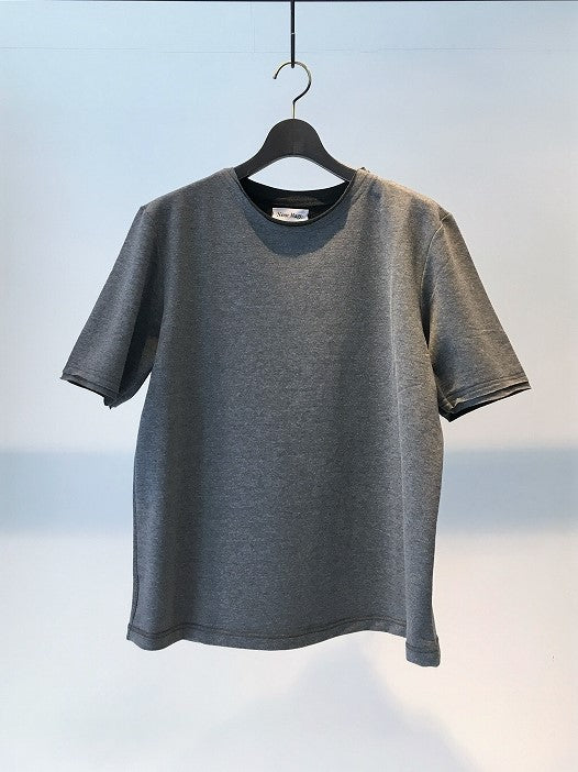 NOURHAGE / EMBROIDERY TEE S/S / GREY