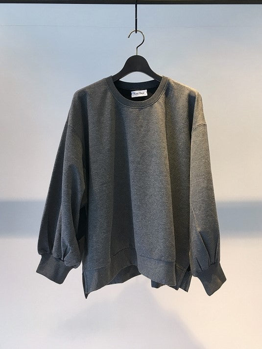 NOURHAGE / PLAIN SWEATSHIRT / GREY