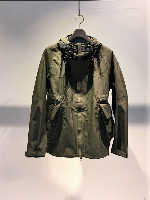 NILMANCE / FUNCTIONAL HOODED ZIP UP BLOUSON / OLIVE