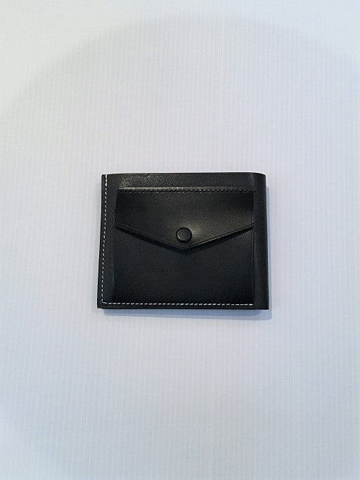 MASTERY / CLASSIC BI FOLD WALLET WITH COINCASE / BLACK