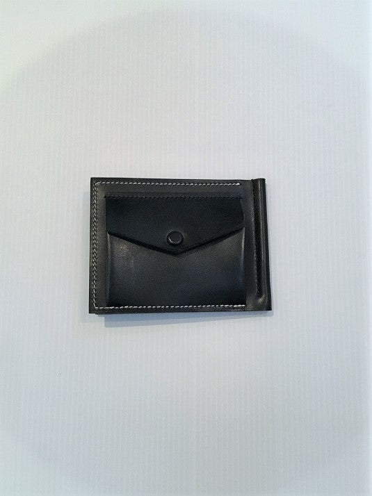 MASTERY / MONEYCLIP WALLET WITH COINCASE / BLACK