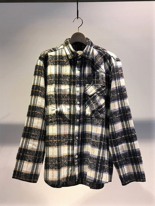 CORELATE / DOUBLE FABRICS CHECK SHIRT / CHECK