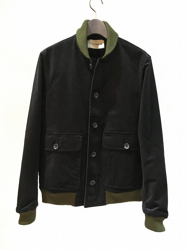 OLIVER SPENCER / LOCKTON BOMBER / BLACK
