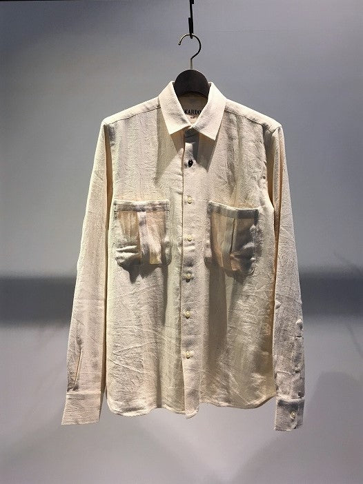KARDO / TOMMY LONG SLEEVE SHIRT / NATURAL