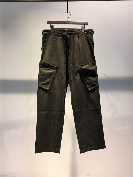KARDO / ANDRE COMBAT TROUSERS / DARK-GREEN