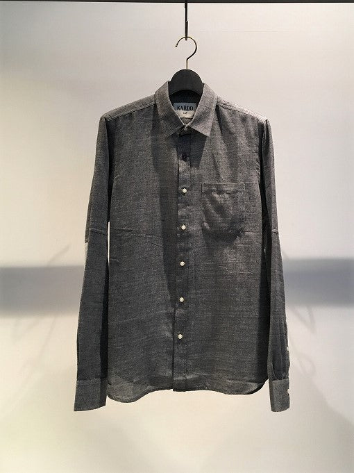 KARDO / STEVIE LONG SLEEVE SHIRT / CHACOAL