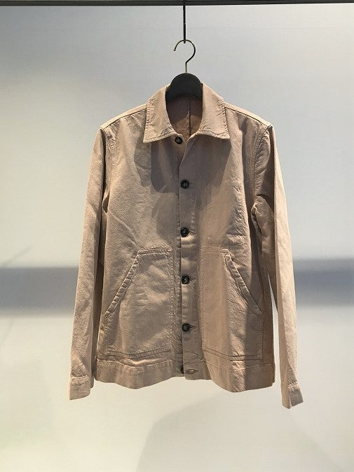 MUNDAKA STUDIO / CO-LI WORK JACKET / NUDE