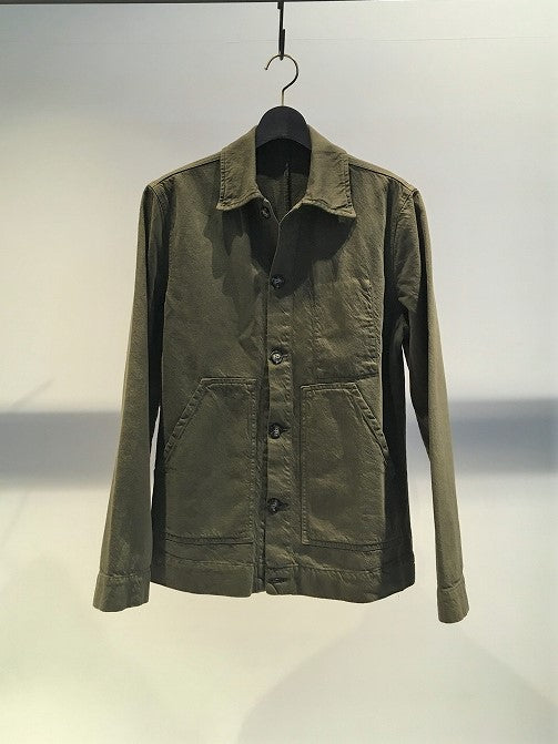MUNDAKA STUDIO / CO-LI WORK JACKET / DARK-GREEN