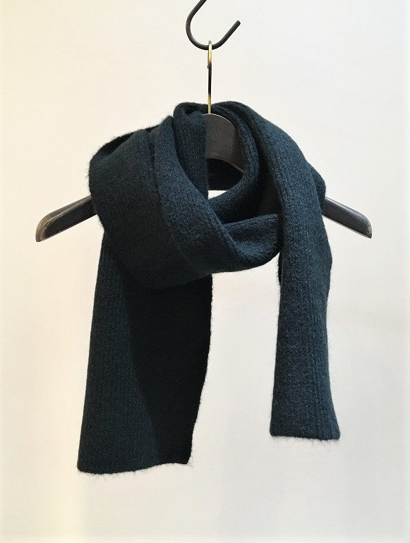 HOMECORE / BABY SCARF / DARK-GREEN
