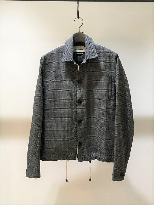 OLIVER SPENCER / BUCKLAND JACKET / GREY CHECK
