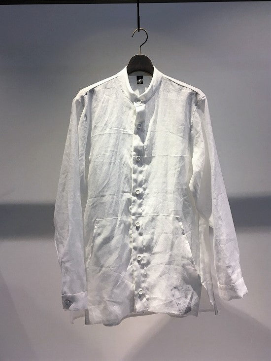 ANTONIO TUO / LINEN SHIRT / WHITE