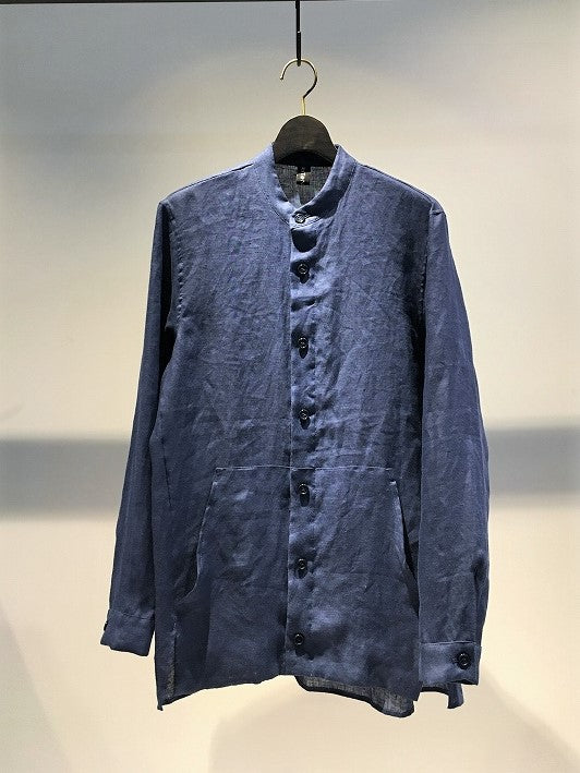 ANTONIO TUO / LINEN SHIRT / BLUE